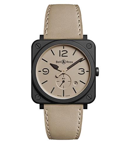 BELL & ROSS 航空 BR 03-94 Chronographe 沙漠型中性手表 (米色