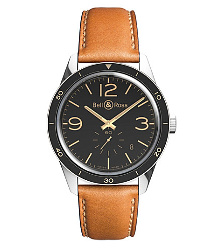 BELL & ROSS Vintage BR 123 heritage watch (Black