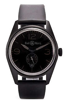 BELL & ROSS BRV123PHANTOM PVD watch