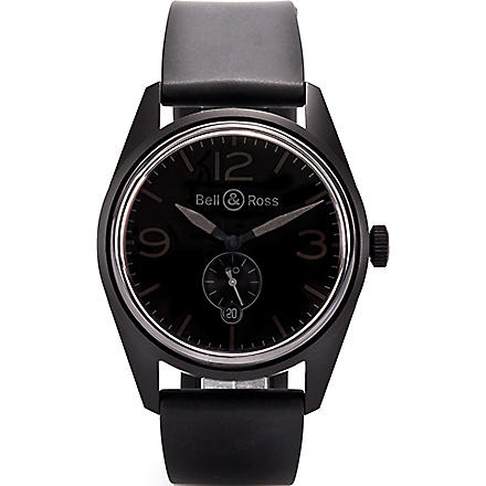 BELL & ROSS BRV123PHANTOM PVD watch (Black