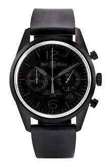 BELL & ROSS BRV126PHANTOM PVD watch