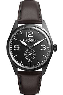BELL & ROSS Vintage brww197-bl-st/scr watch