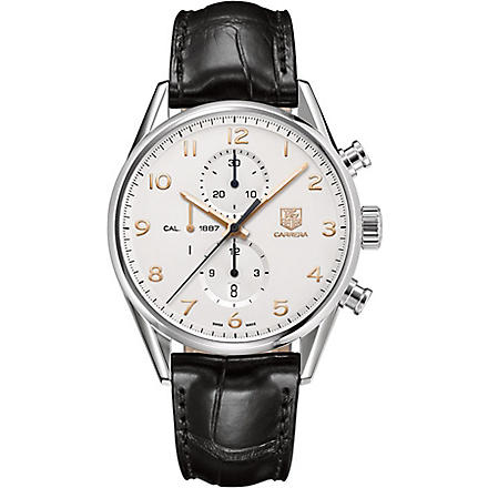 TAG HEUER Carrera Calibre 1887 Automatic Chronograph 43mm (White