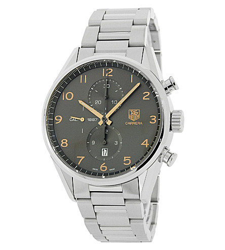 TAG HEUER car2013.ba0799 Carrera stainless steel chronograph watch