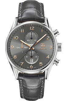 TAG HEUER Carrera calibre 1887 automatic chronograph watch 43mm