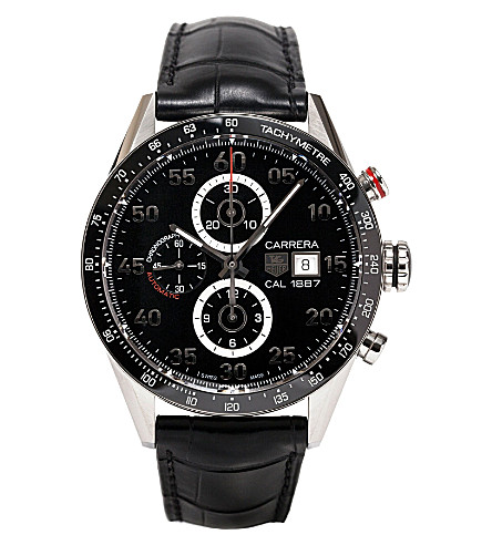 TAG HEUER Carerra Calibre 1887 Jack Heuer edition watch