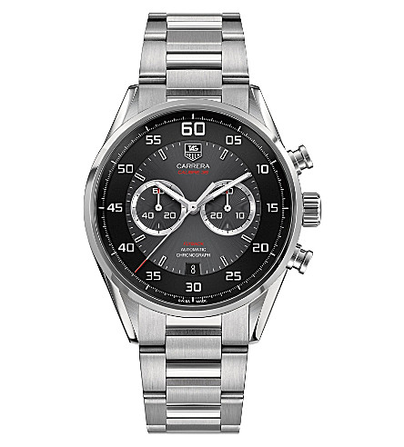TAG HEUER Calibre 36 flyback chronograph watch 43mm