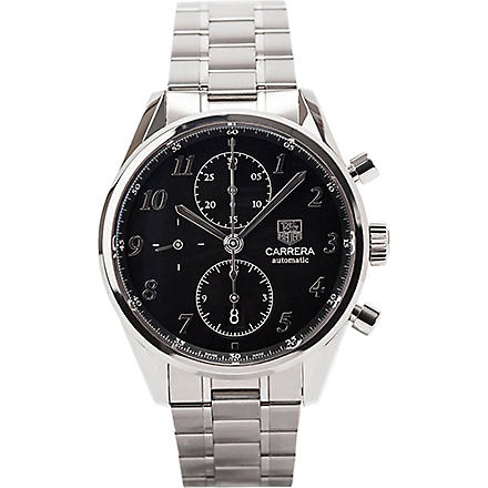 TAG HEUER CAS2110.BA0730 Carrera stainless steel watch