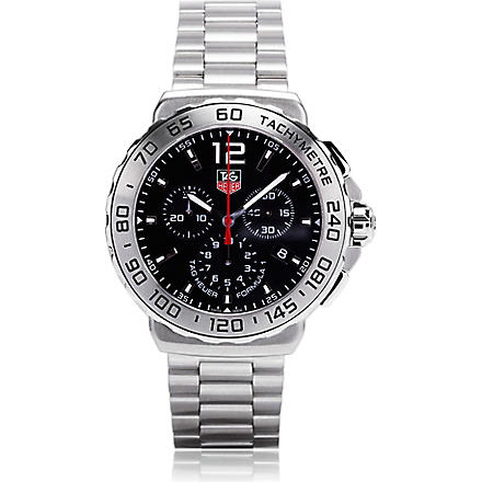 TAG HEUER Formula 1 chronograph watch 42mm (Steel