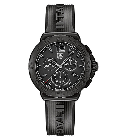 TAG HEUER Formula 1 chronograph watch 42mm (Steel & titanium