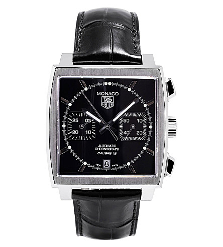 TAG HEUER Calibre 12 automatic chronograph watch 39mm