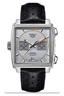 TAG HEUER Monaco limited edition chronograph watch