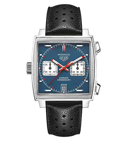 TAG HEUER CAW211P.FC6356 Monaco stainless steel watch (Blue