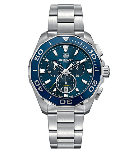 TAG HEUER CAY111B.BA0927 Aquaracer stainless steel watch (Blue