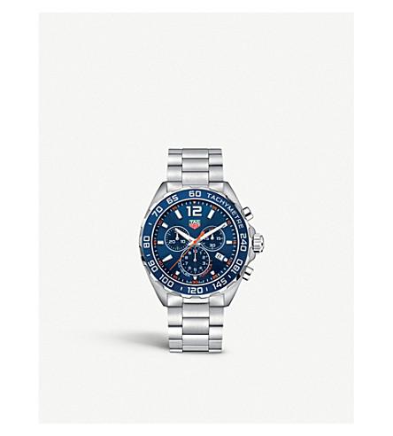 TAG HEUER caz1014ba0842 配方1不锈钢腕表 (蓝色