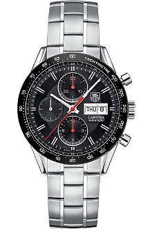 TAG HEUER Carrera Automatic calibre 16 automatic chronograph stainless watch
