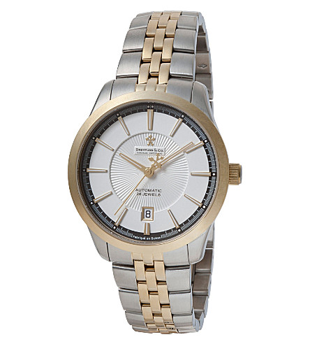 DREYFUSS DGB00066-06 stainless steel watch (Steel