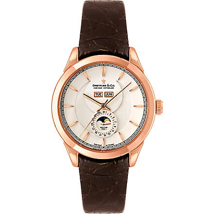 DREYFUSS DGS00070-06 Co Gents 1925 watch (Steel