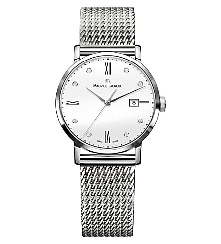 MAURICE LACROIX Eliros EL1084-SS002-150 stainless steel watch