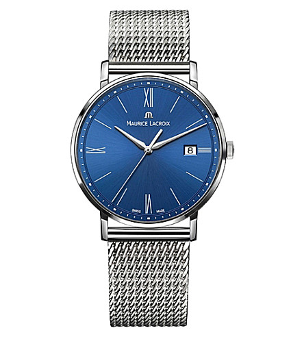 MAURICE LACROIX Eliros EL1087-SS002-410 stainless steel watch