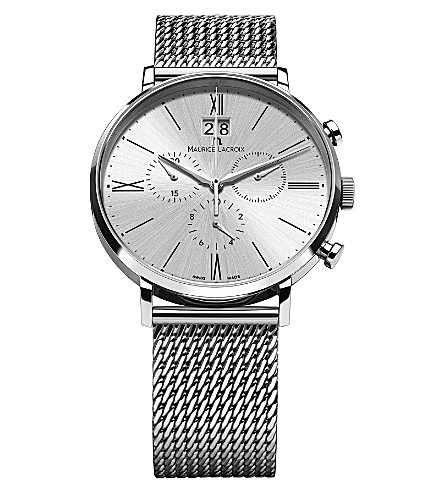 MAURICE LACROIX EL1088-SS002-110 Eliros stainless steel watch