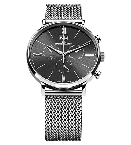 MAURICE LACROIX El1088-ss002-310 stainles steel silver bracelet watch