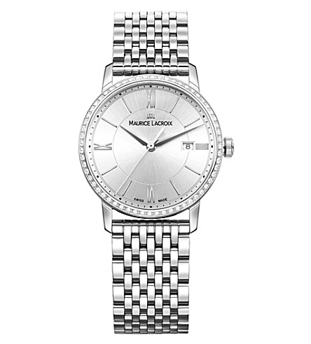 MAURICE LACROIX Eliros EL1094-SD502-110-1 stainless steel watch (Silver