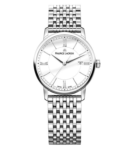 MAURICE LACROIX Eliros EL1094-SS002-110-1 stainless steel watch (White