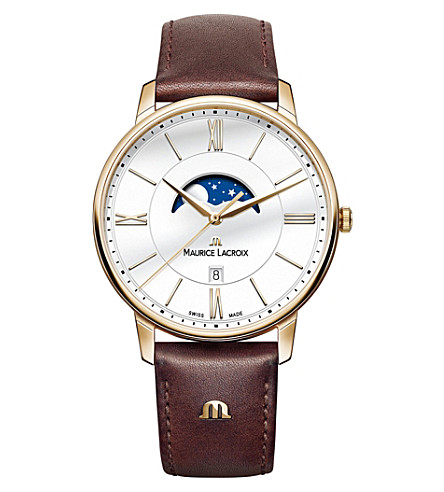 MAURICE LACROIX Eliros EL1098-PVP01-112-1 moon phase watch (White