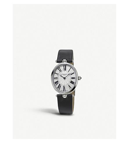 FREDERIQUE CONSTANT 200mpw2v6 经典艺术装饰不锈钢腕表
