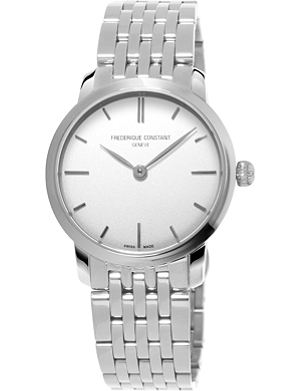 FREDERIQUE CONSTANT FC-200S1S36B3 Slimline Mid Size stainless steel watch