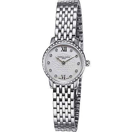 FREDERIQUE CONSTANT FC200WHDSD6B stainless steel watch (Steel
