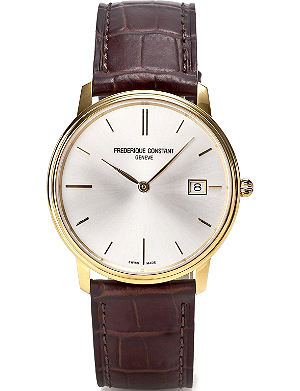 FREDERIQUE CONSTANT FC220NW4S5 slim line automatic watch