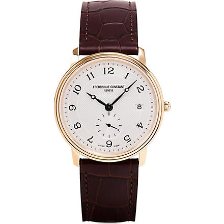 FREDERIQUE CONSTANT FC-245AS4S5 Slim Line watch (Gold