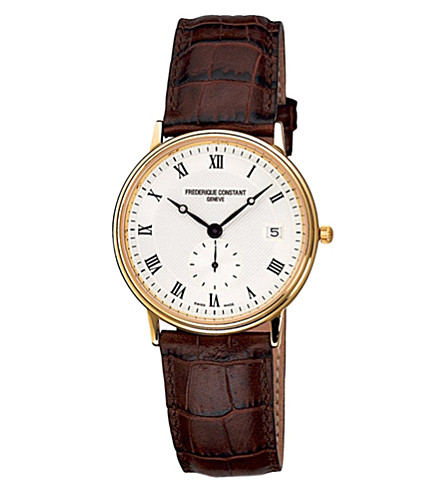 FREDERIQUE CONSTANT FC245M4S5 Slim Line watch (Steel