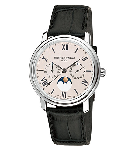 FREDERIQUE CONSTANT FC270SW4P6 Classics Business Timer stainless steel moonphase watch
