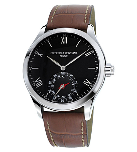 FREDERIQUE CONSTANT FC285B5B6 stainless steel watch (Black