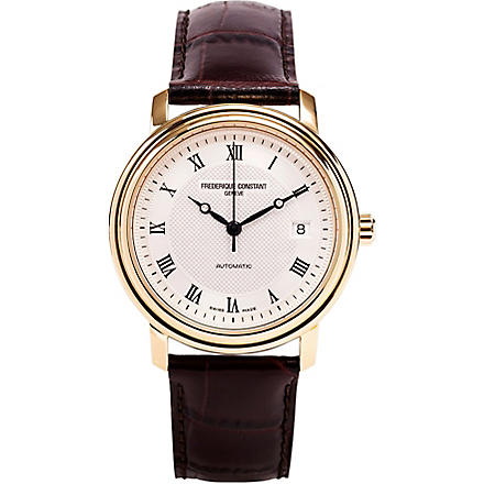 FREDERIQUE CONSTANT FC303MC3P5 Slim Line watch (Gold