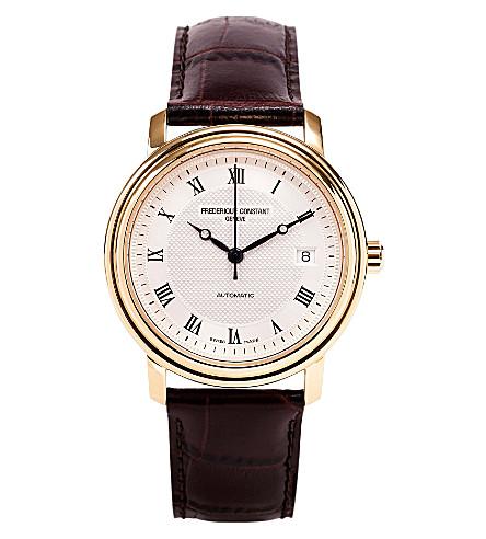 FREDERIQUE CONSTANT FC303MC3P5 Slim Line watch (Gold