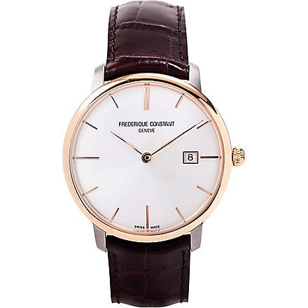 FREDERIQUE CONSTANT FC-306V4STZ9 slim-line automatic watch (Titanium