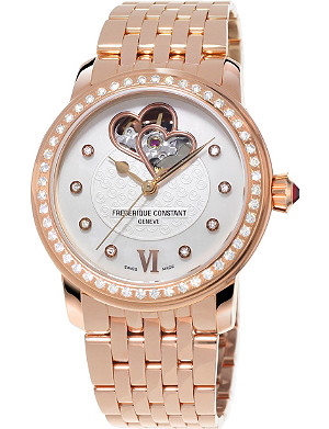 FREDERIQUE CONSTANT FC310WHF2PD4B3 Automatic World Heart Federation plated stainless steel watch