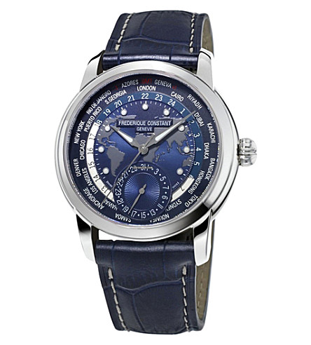 FREDERIQUE CONSTANT FC718NWM4H6 stainless steel watch (Blue