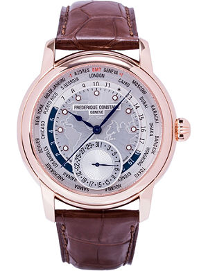 FREDERIQUE CONSTANT FC-718WM4H4 Worldtimer watch