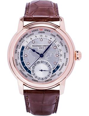FREDERIQUE CONSTANT FC-718WM4H4 Worldtimer watch