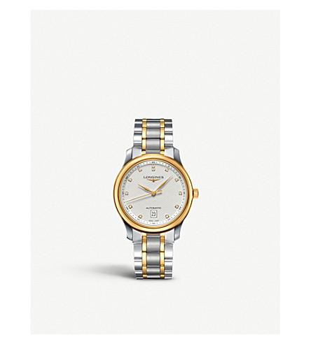 LONGINES L26285777 主18ct 黄金和不锈钢表 (银色