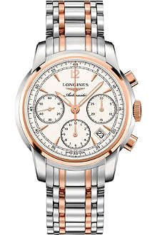 LONGINES L27525727 Saint-Imier stainless steel and rose gold-toned watch
