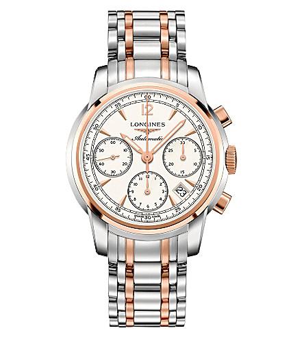 LONGINES L27525727 圣 Imier 不锈钢和玫瑰金色色调手表