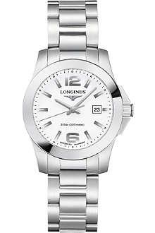 LONGINES L3.277.4.16.6 Unisex Conquest watch