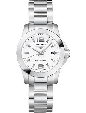 LONGINES L3.277.4.16.6 Unisex Conquest watch
