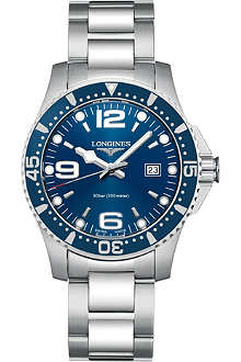 LONGINES Hydroconquest watch L3.640.4.96.6